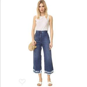 Rachel Comey Bishop Blue Denim Pants Jeans